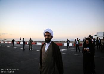 تصاویر ورود رئیس مجلس شورای اسلامی به مشهد
