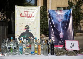 تصاویر دستگیری فروشندگان مواد مخدر