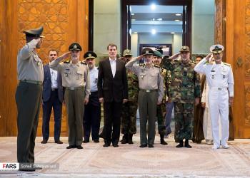 تصاویر تجدید میثاق فرمانده کل ارتش با آرمان های امام خمینی(ره)  و شهدا