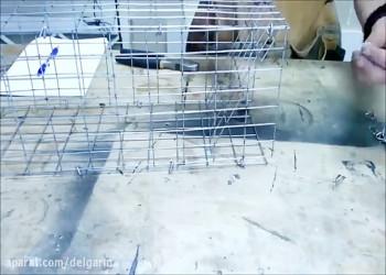 چطور یک تله گربه گیر فلزی بسازیم ؟