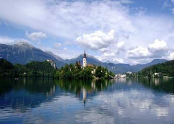 دریاچه بلد اسلوونی رومانتیک ترین مناطق دنیا