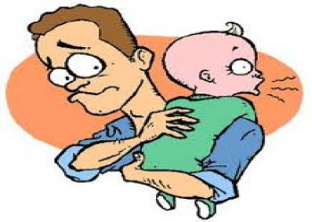 نکاتی درباره آروغ زدن نوزادان