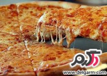 یک پیتزای خوشمزه برای پیک نیک