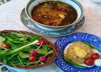 آبگوشت ترش (غذای محلی اقلید)