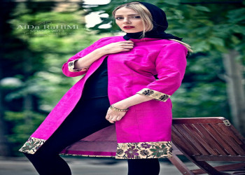 تصاویر مانتو تابستانی ایرانی - طرح های جدید مانتو تابستانه