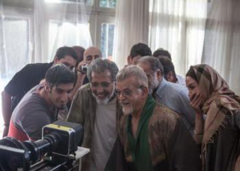 حواشی و عکس های پشت صحنه فیلم آذر، شهدخت، پرویز و دیگران