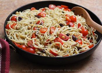 به روش سیسیلی ها اسپاگتی بخورید! طرز تهیه اسپاگتی سیسیلی