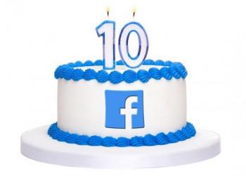 تغییرات فیس بوک از تولد تا ده سالگی!