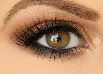 آموزش آرایش چشم:آرایش چشم با سایه قهوه ای(تصویری)