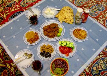 چندین توصیه برای وعده سحری و افطار