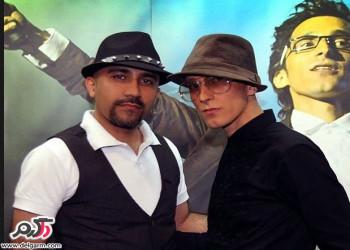 عکس دیده نشده از مرحوم مرتضی پاشایی در کنار برادرش