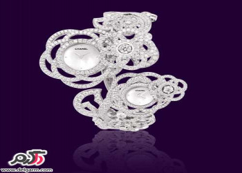 مدل های بینظیر ساعت طلا و الماس Chanel