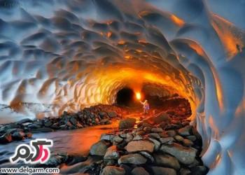 غار یخی چما اعجاب انگیزترین غار چهارمحال و بختیاری
