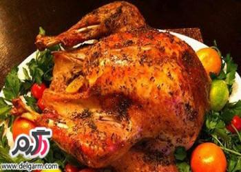 آموزش تهیه مرغ بریان مخصوص مجلسی