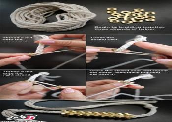 ایده جالب برای ساخت دستبند فشن دخترانه