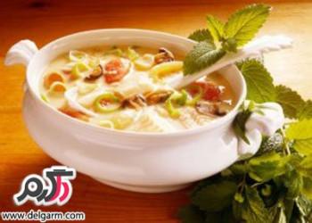 پخت یک سوپ مخصوص برای افراد چاق