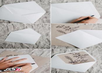 ایده جالب و ساده برای کارت دعوت