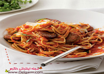 انواع پخت اسپاگتی