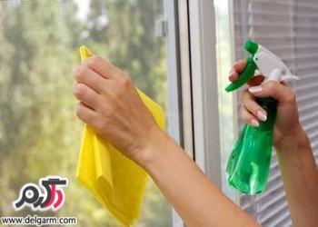 نکات جالب برای تمیز کردن منزل