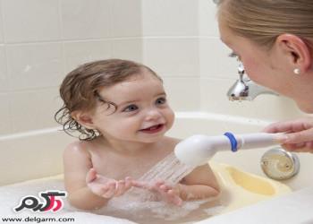 دانستنی حمام کردن نوزادان و کودکان