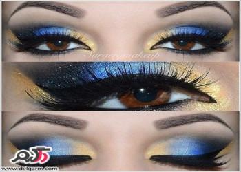 تصاویری از آرایش چشم جدید