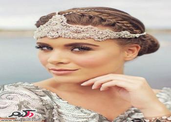 مدل مو عروس جدید به سبک اروپا