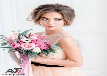 مدل مو عروس جدید با تم خاص و شیک