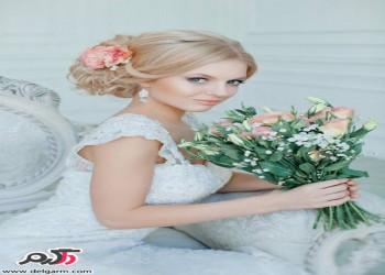 مدل شینیون مو بسته مختص عروس خانم ها