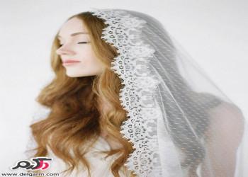 مدل مو عروس به سبک فرانسوی