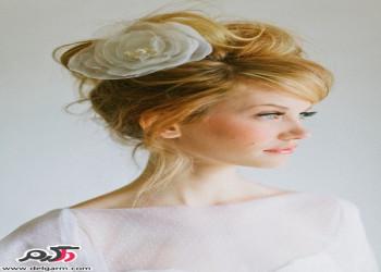 مدل مو عروس جدید و خوشکل