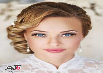 مدل شینیون زنانه و جدید به سبک اسپانیایی