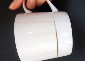 طراحی فنجان برای آدم های شلخته .!!
