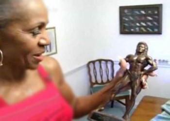 پیرترین بدنساز زن جهان .!!!