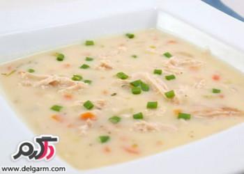 طرز تهیه سوپ شیر به همراه عکس