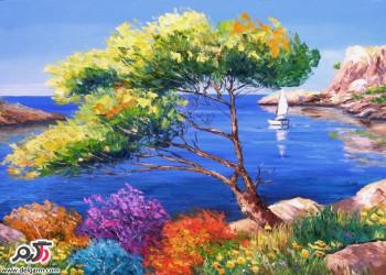 نقاشی های مفهومی و زیبا ؛شاهکاری با دست