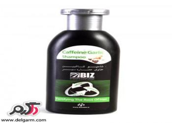 موارد مصرف و فواید شامپو کافئین(جینسینگ ؛سیر)برای سلامت مو