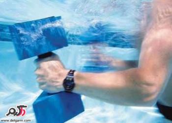 چند تمرین ورزش در آب یا آب درمانی در طب ژاپني