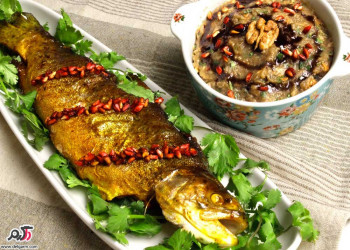 طرز تهیه ماهی شکم پر آسان و خوشمزه