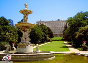 جاذبه های گردشگری کاخ سلطنتی مادرید اسپانیا
