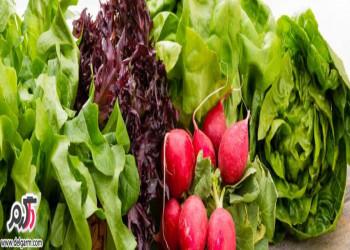 خواص سبزی خوردن برای سلامتی بدن