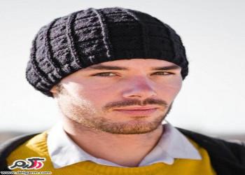 مدل کلاه بافتنی جدید پسرانه 2018 زمستان 96