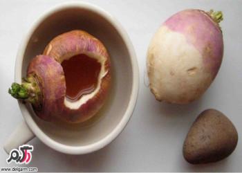 درمان سرماخوردگی با معجون معجز آسای شلغم و عسل