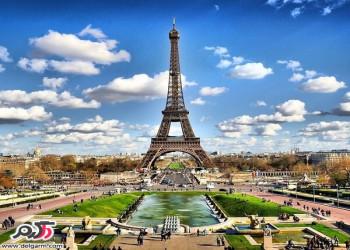مکان های گردشگری و زیبای پاریس