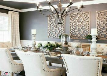 20 مدل از نحوه چیدمان میز و صندلی غذاخوری در سبک های متنوع