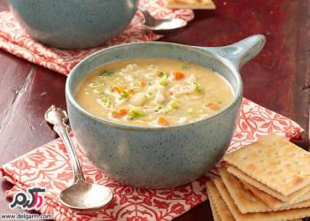 پخت آسان و خوشمزه سوپ ایتالیایی