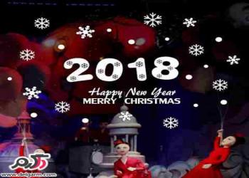 عکس و پیام تبریک برای کریسمس 2018