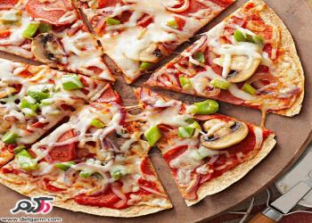 آموزش کامل طرز تهیه پیتزا مارگاریتا خوشمزه و خانگی