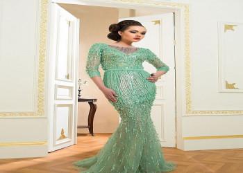 آخرین مدل های لباس مجلسی بلند شیک 2018