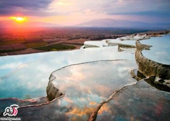 عکس های دیدنی از پاموک کاله یا پاموک قلعه