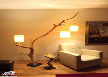 15 ایده در استفاده از چوب درختان در دکوراسیون داخلی منزل